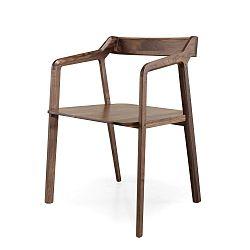 Jídelní židle z ořechového dřeva Wewood - Portuguese Joinery Kundera
