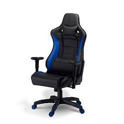 Kancelářská židle Furnhouse De Luxe Swivel Blu