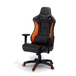 Kancelářská židle Furnhouse De Luxe Swivel Orange
