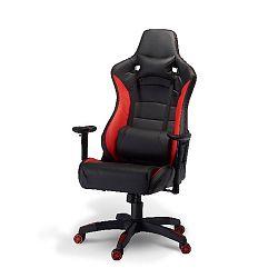 Kancelářská židle Furnhouse De Luxe Swivel Red