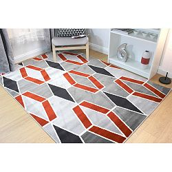 Koberec Flair Rugs Cocktail Maitai Grey Terracotta, 160 x 230 cm