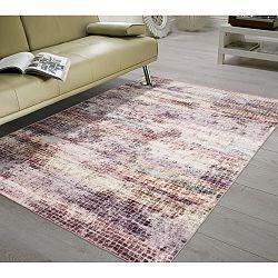 Koberec odolný proti skvrnám Floorita Mosaic Multi, 80x150cm