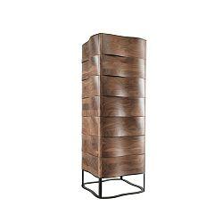 Komoda z ořechového dřeva se 7 zásuvkami Wewood - Portuguese Joinery Touch