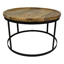 Konferenční stolek s deskou z mangového dřeva HSM collection Zen