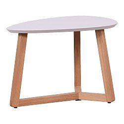 Konferenční stolek s růžovou deskou Artemob Marina, 33 x 50 cm