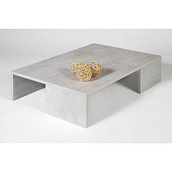 Konferenční stolek v dekoru betonu MobiliFiver Rachelle