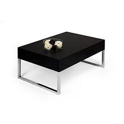 Konferenční stolek v dekoru černé borovice MobiliFiver Evo XL