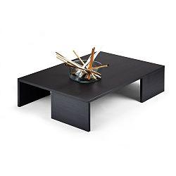 Konferenční stolek v dekoru černé borovice MobiliFiver Rachelle