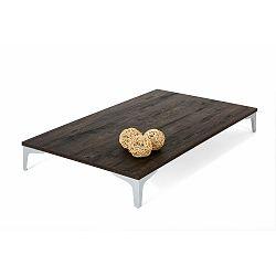 Konferenční stolek v dekoru hnědého dubu MobiliFiver Flat