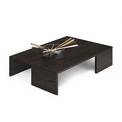 Konferenční stolek v dekoru hnědého dubu MobiliFiver Rachelle