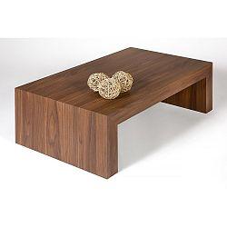Konferenční stolek v dekoru ořechu MobiliFiver H30