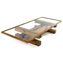 Konferenční stolek Yabila, délka120cm