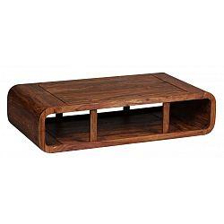 Konferenční stolek z masivního sheeshamového dřeva Skyport BOHA