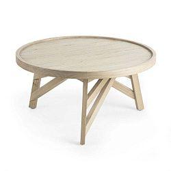 Konferenční stolek ze dřeva mindi La Forma Thais, ø 80 cm