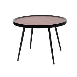 Konferenční stolek ze dřevěné dýhy Leitmotiv Bateau