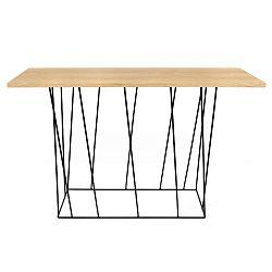Konzolový stolek s černými nohami TemaHome Helix