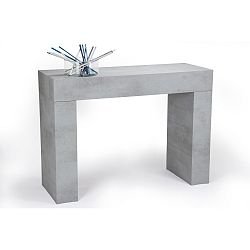 Konzolový stolek v dekoru betonu MobiliFiver Evolution