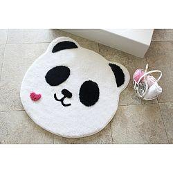 Koupelnová předložka s motivem pandy Alessia, Ø 90 cm