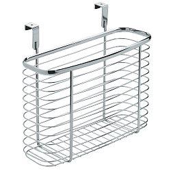 Kovový košík na kuchyňská dvířka InterDesign Axis Cabinet