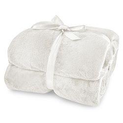 Krémová deka z mikrovlákna DecoKing Mic, 150x200cm