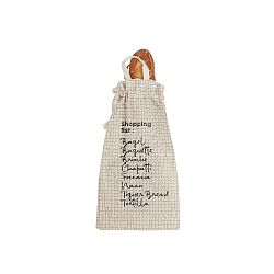 Látkový vak na chléb Linen Couture Bag Shopping, výška 42 cm