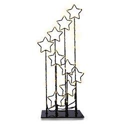 LED dekorace s hvězdičkami na podstavci DecoKing Comet
