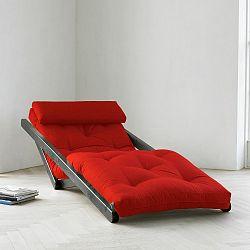 Lenoška Karup Figo, Wenge/Red, 70 cm
