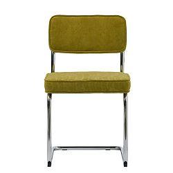 Limetkově zelená jídelní židle Unique Furniture Rupert Bauhaus