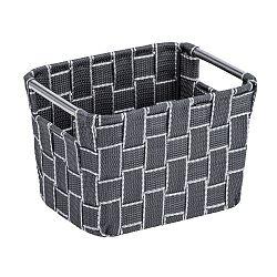 Malý šedý košík Wenko Fedra