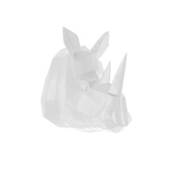 Matně bílý nástěnný věšák PT LIVING Origami Rhino