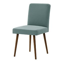 Mentolově zelená židle s tmavě hnědými nohami Ted Lapidus Maison Fragrance
