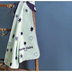 Modrá deka z edice Marie Claire Noyal, 130 x 170 cm