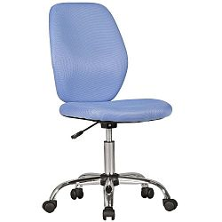 Modrá dětská židle na kolečkách Skyport Amstyle Emma
