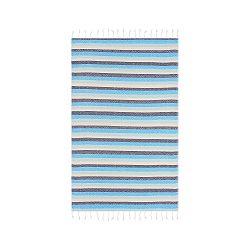 Modrá hammam osuška Begonville Skye Cool, 180x95cm