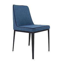 Modrá jídelní židle Ángel Cerdá Shannon