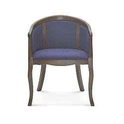 Modrá jídelní židle Fameg Christer