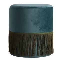 Modrá podnožka Last Deco Lachen
