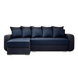 Modrá sedačka Interieur De Famille Paris Destin, levý roh