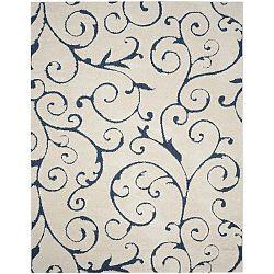 Modro-krémový koberec Safavieh Chester, 160 x 99cm