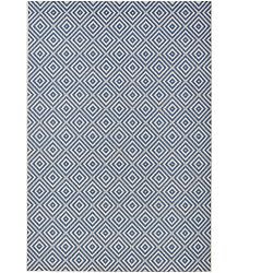 Modrý koberec vhodný i na ven bougari Karo, 200x290cm