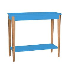 Modrý konzolový stolek Ragaba Ashme, šířka85cm