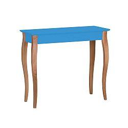 Modrý konzolový stolek Ragaba Lillo, šířka85cm