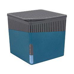 Modrý odvlhčovač vzduchu Wenko Cube