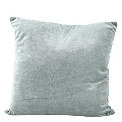 Modrý polštář se zipem KJ Collection, 23 cm