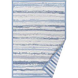 Modrý vzorovaný oboustranný koberec Narma Saara, 140x200cm
