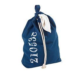 Modrý závěsný koš na prádlo Wenko Sailor