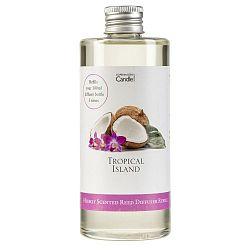 Náplň do aroma difuzéru Copenhagen Candles  Tropical Island Silver, 300 ml