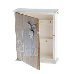 Nástěnná dřevěná skříňka na klíče Dakls Ruseno