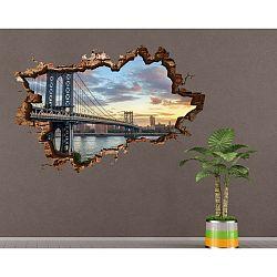 Nástěnná samolepka 3D Art Silke, 135x90cm