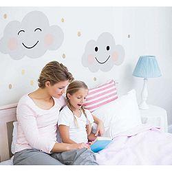 Nástěnná samolepka Dekornik Clouds Smile